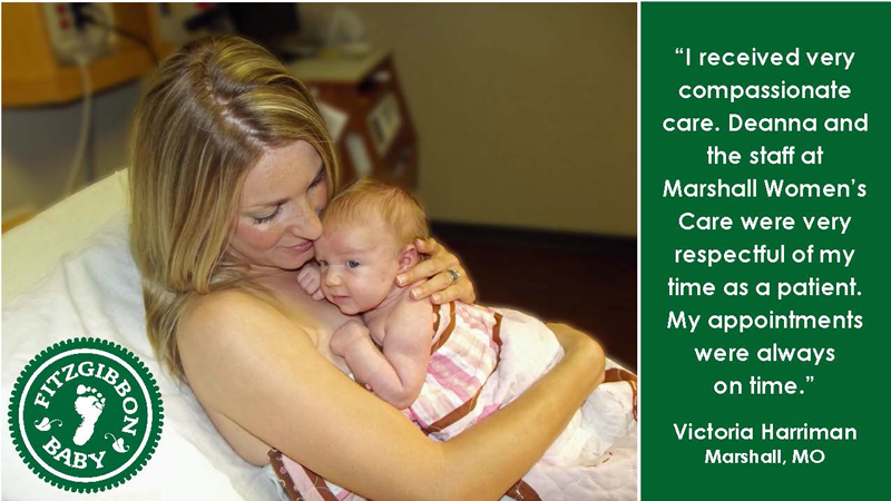 Testimonial from Marshall Women's Care patient